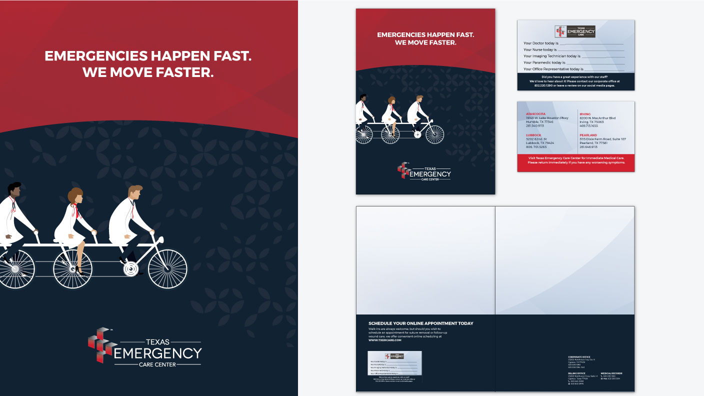 Texas Emergency Care Center - Brand Folder