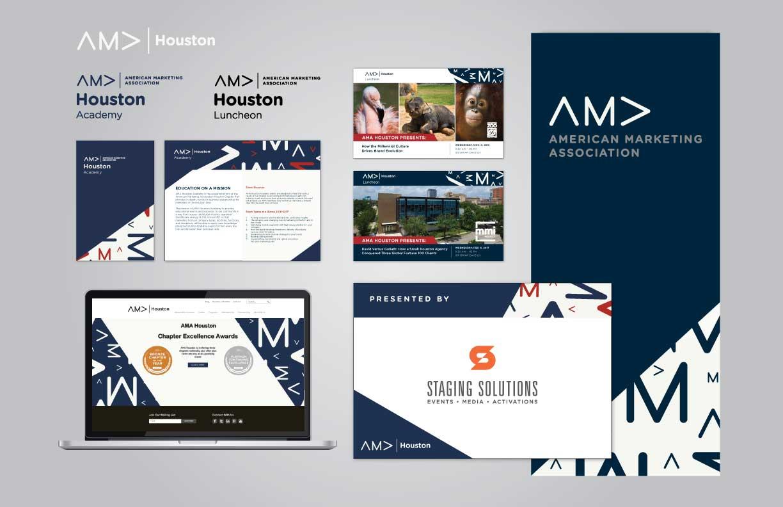 AMA Houston Chapter Brand Identity