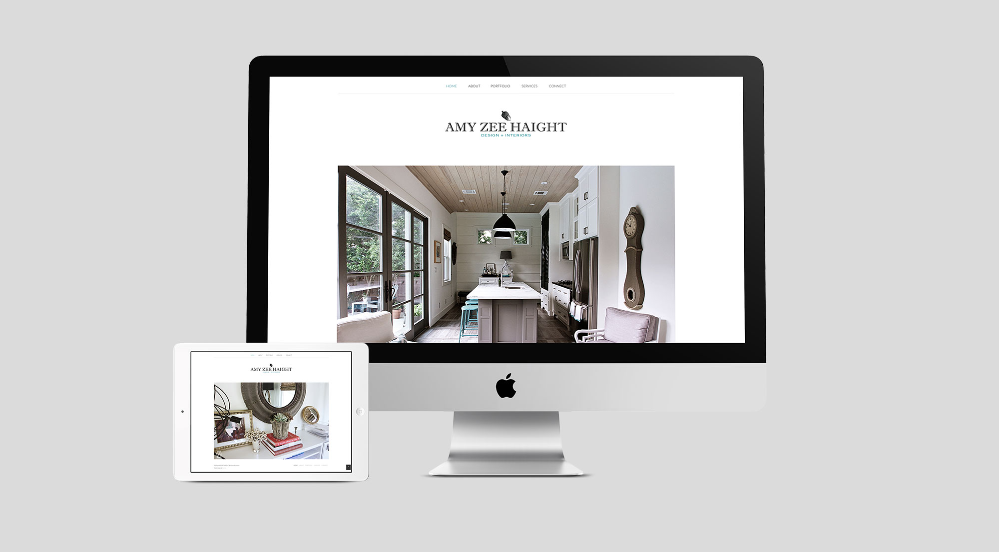 Amy Zee Haight - Website design