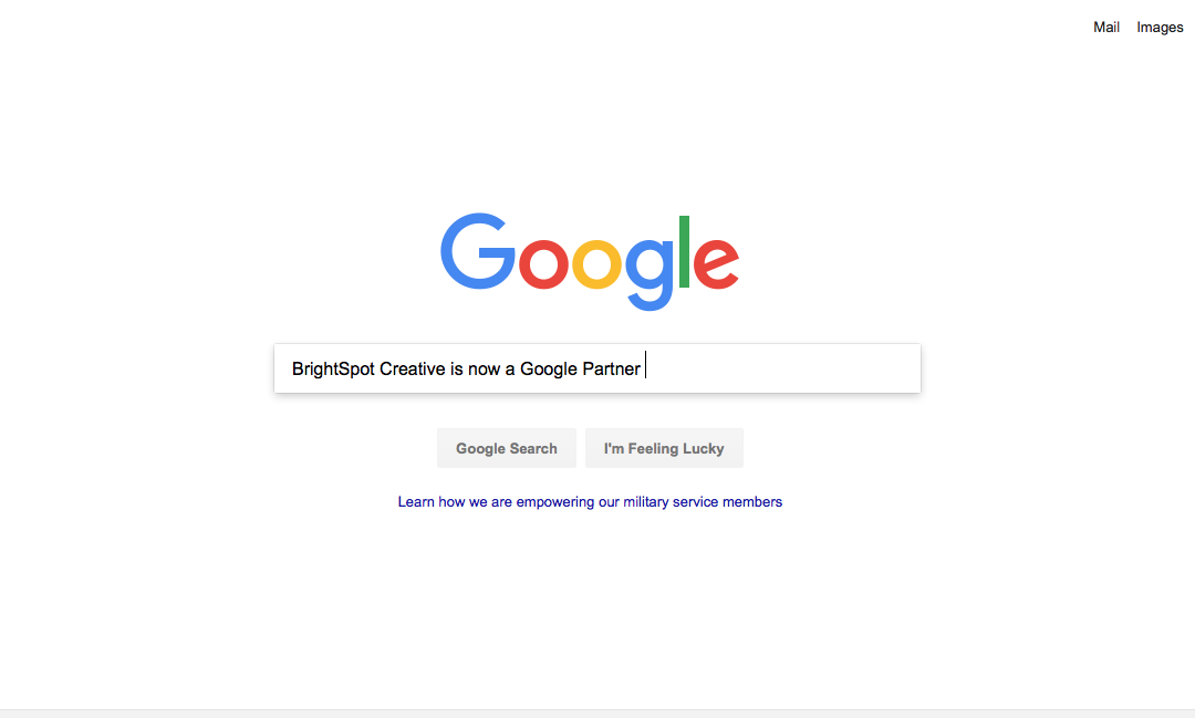 BrightSpot Creative Earns a Google Partner Badge